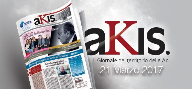 Akis – ed. 4 del 21 marzo 2017