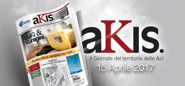 Akis – ed. 5 del 15 aprile 2017