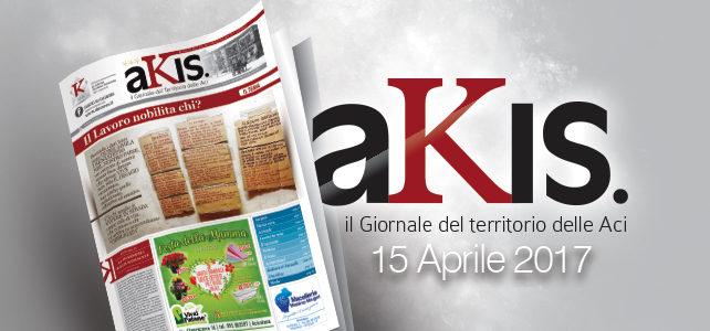 Akis – ed. 6 dell' 1 maggio 2017
