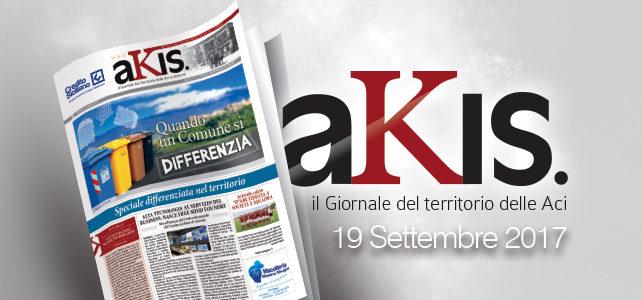 Akis – ed. 11 del 19 settembre 2017