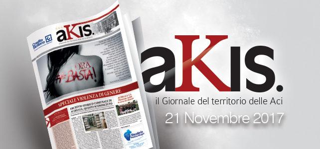 Akis – ed. 13 del 21 novembre 2017